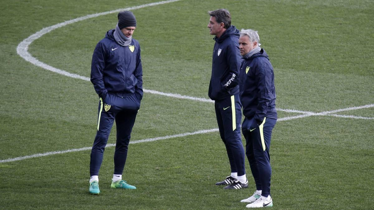 Málaga destituye a su técnico José Miguel González