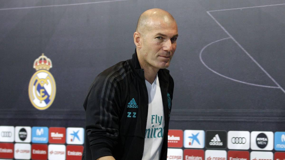 Resultado de imagen para Zinedine Zidane 2018