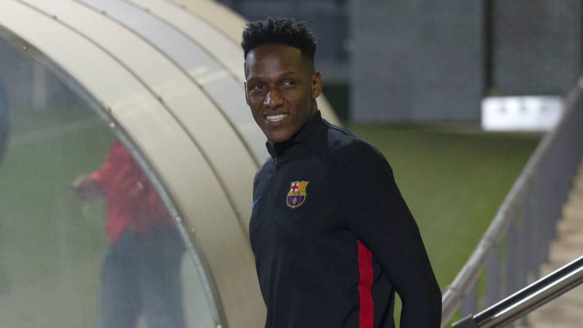Oficial: Yerry Mina llevará el número 24 en el Barcelona