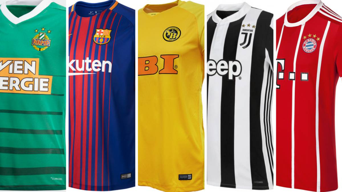 aef30f06da50b Where are the most expensive football shirts in Europe  - AS.com