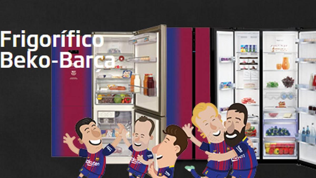 best service f394e d7ffc Barcelona training kit gets Beko 57 million euros ...