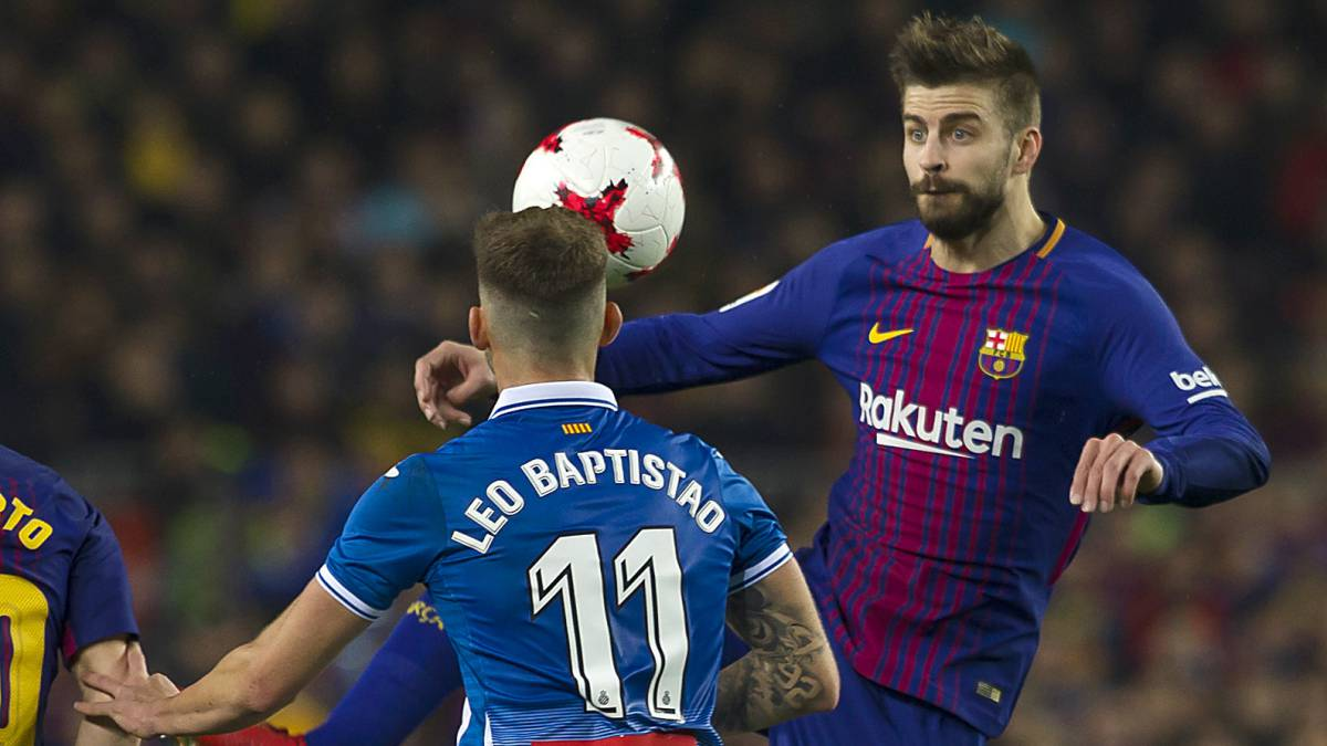 Espanyol demand action against Barcelona pair Pique, Busquets