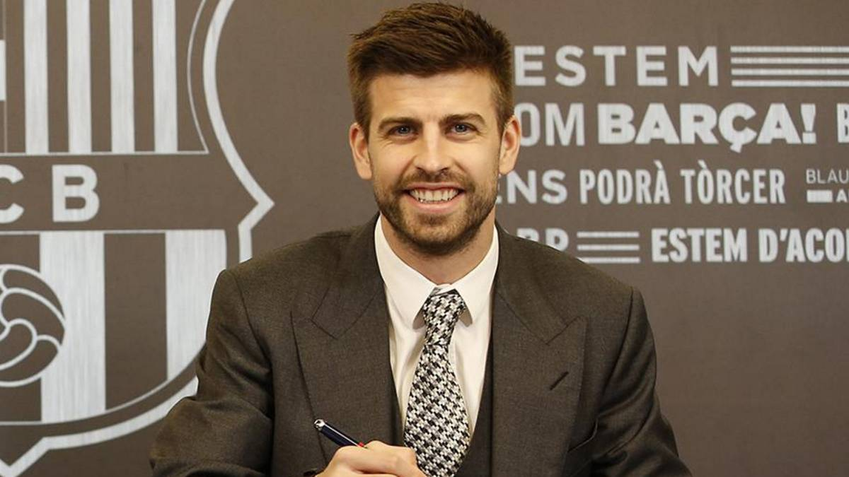 Gerard Pique makes bold transfer claim after signing new deal