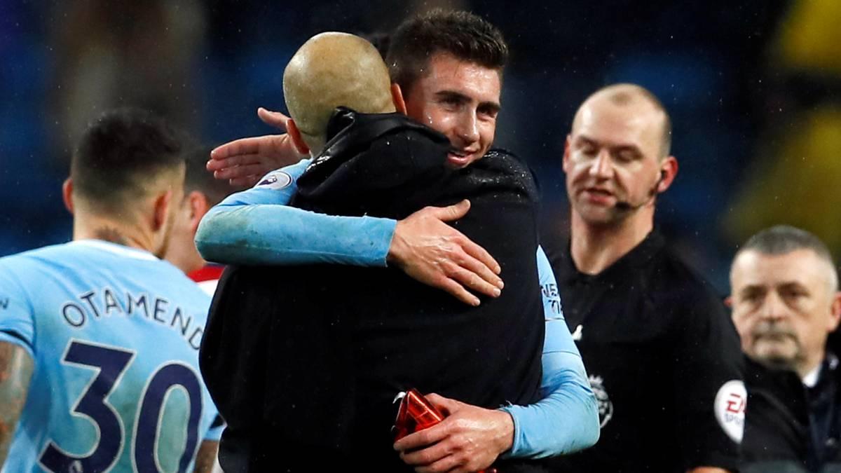 Sergio Agüero marcó un gol en la victoria de Manchester City — Inglaterra
