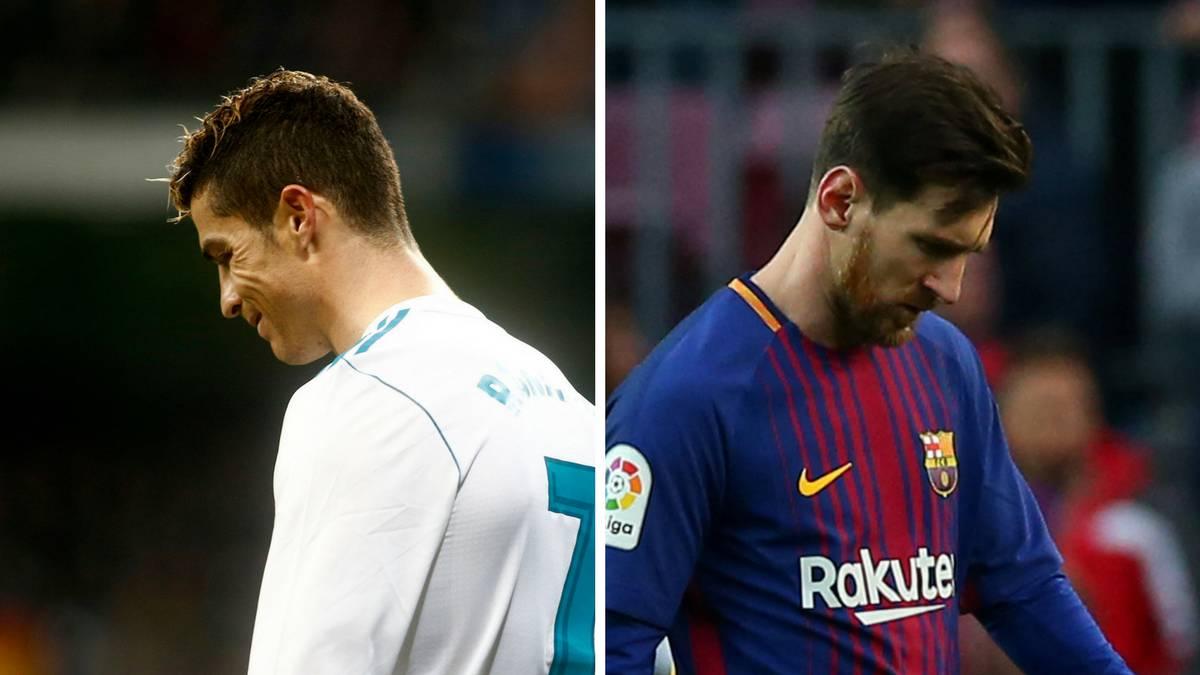 Cristiano Ronaldo (Real Madrid) y Leo Messi (Barcelona) a84d2a325c142