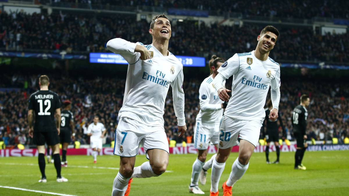 Date real madrid psg 2018