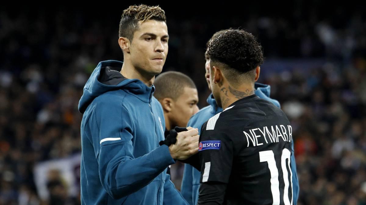 Champions League Real Madrid 3 Psg 1 Cr7 A N Manda Sobre