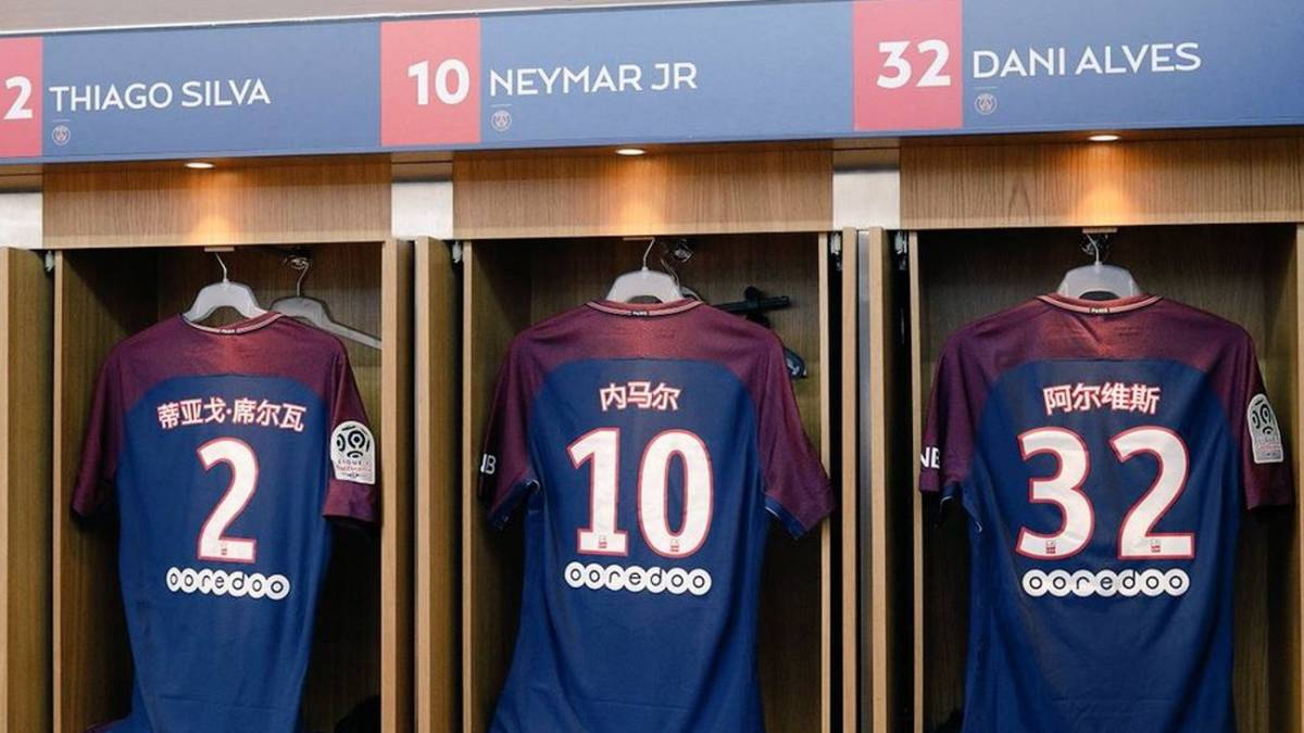 54ea2b296 PSG celebrate Chinese New Year with player names in Mandarin - AS.com
