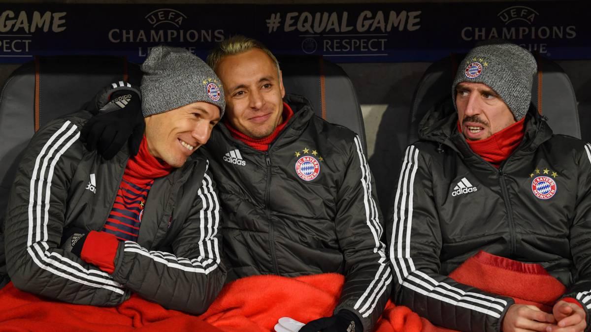 Robben está re caliente en el Bayern Munich de James Rodríguez