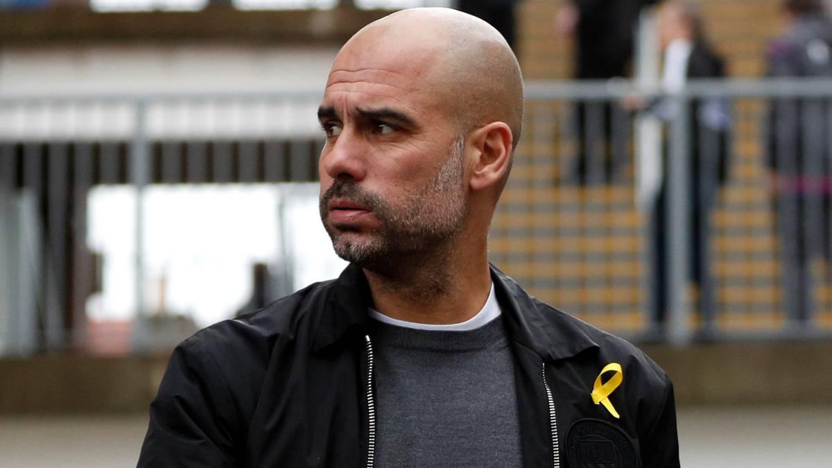 FA charges Pep Guardiola over Catalonia political symbol