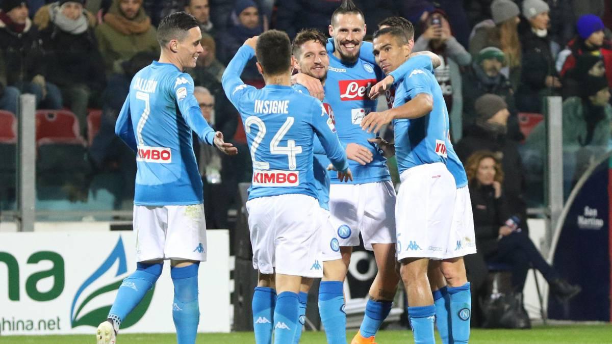 Serie A | El Nápoles arrolla al Cagliari y refuerza su liderato - AS ...