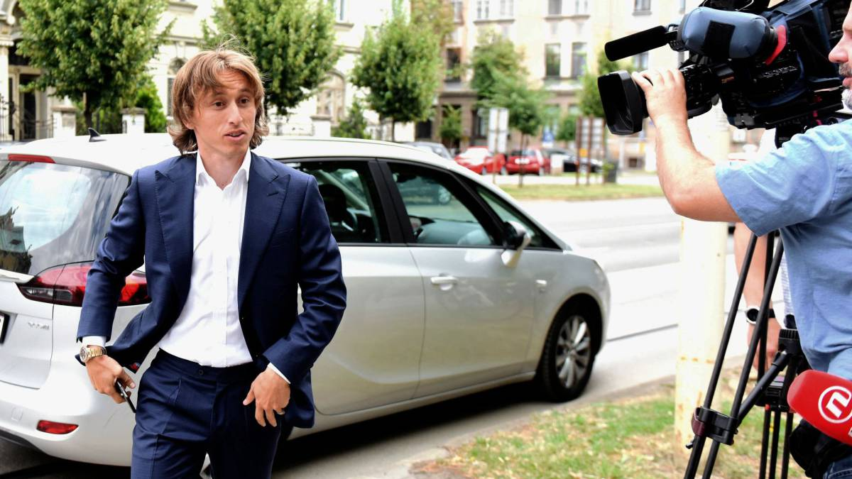 Luka Modric Charged with False Testimony in Former Dinamo Zagreb Exec's Trial