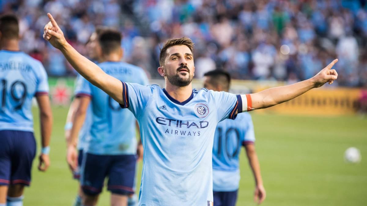 Resultado de imagen para David Villa 2018