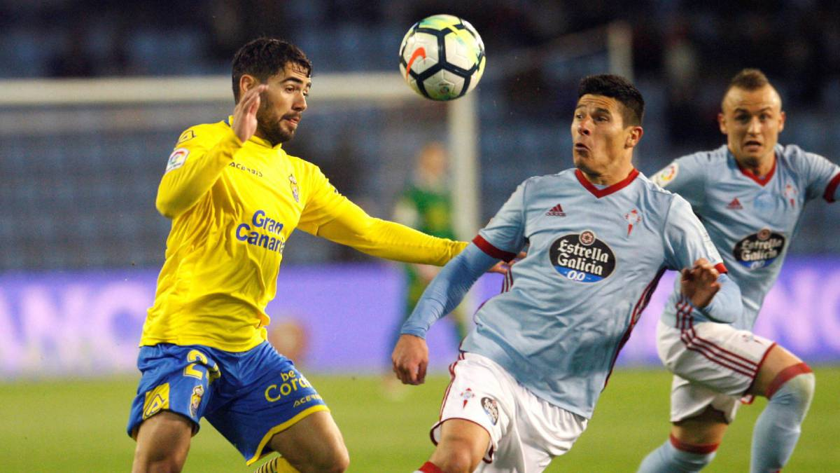 Pablo Hernández le da el triunfo a Celta frente a Las Palmas
