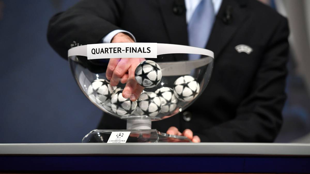 Time and date for Champions League quarter-final draw - AS.com