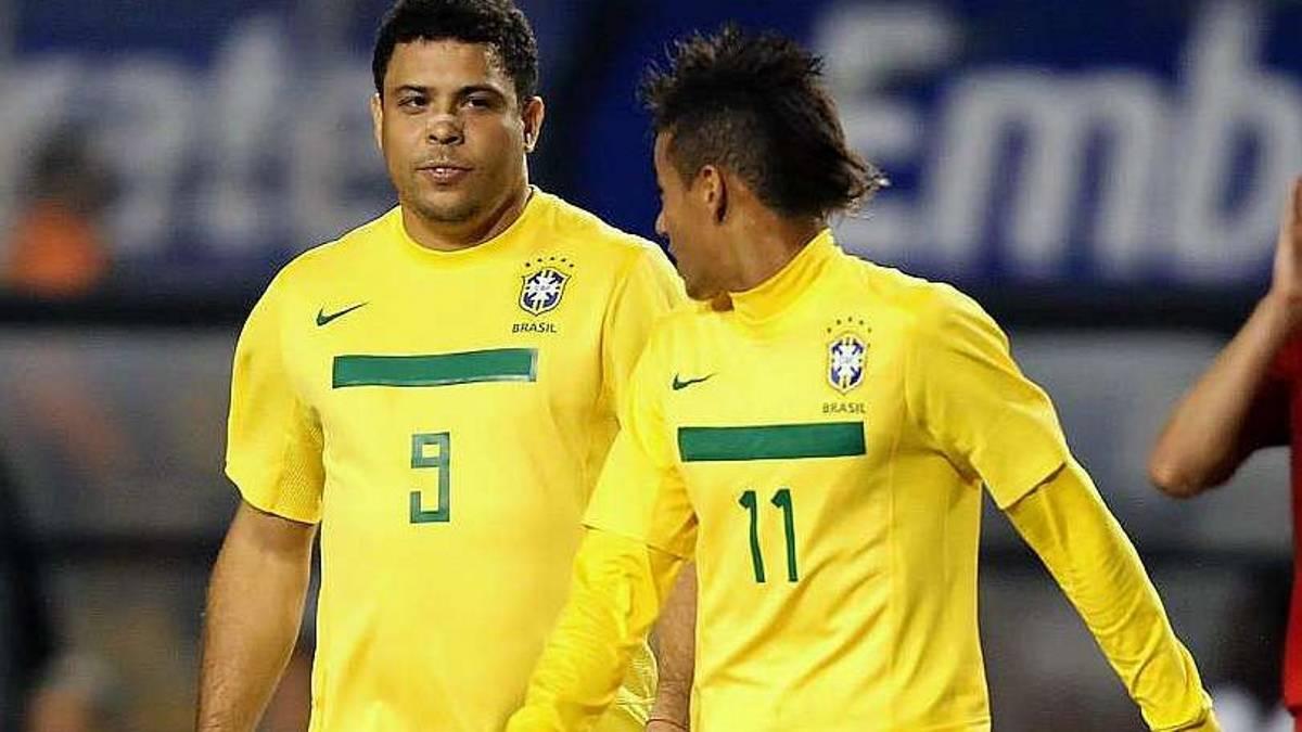 Ronaldo recomienda a Neymar ser paciente