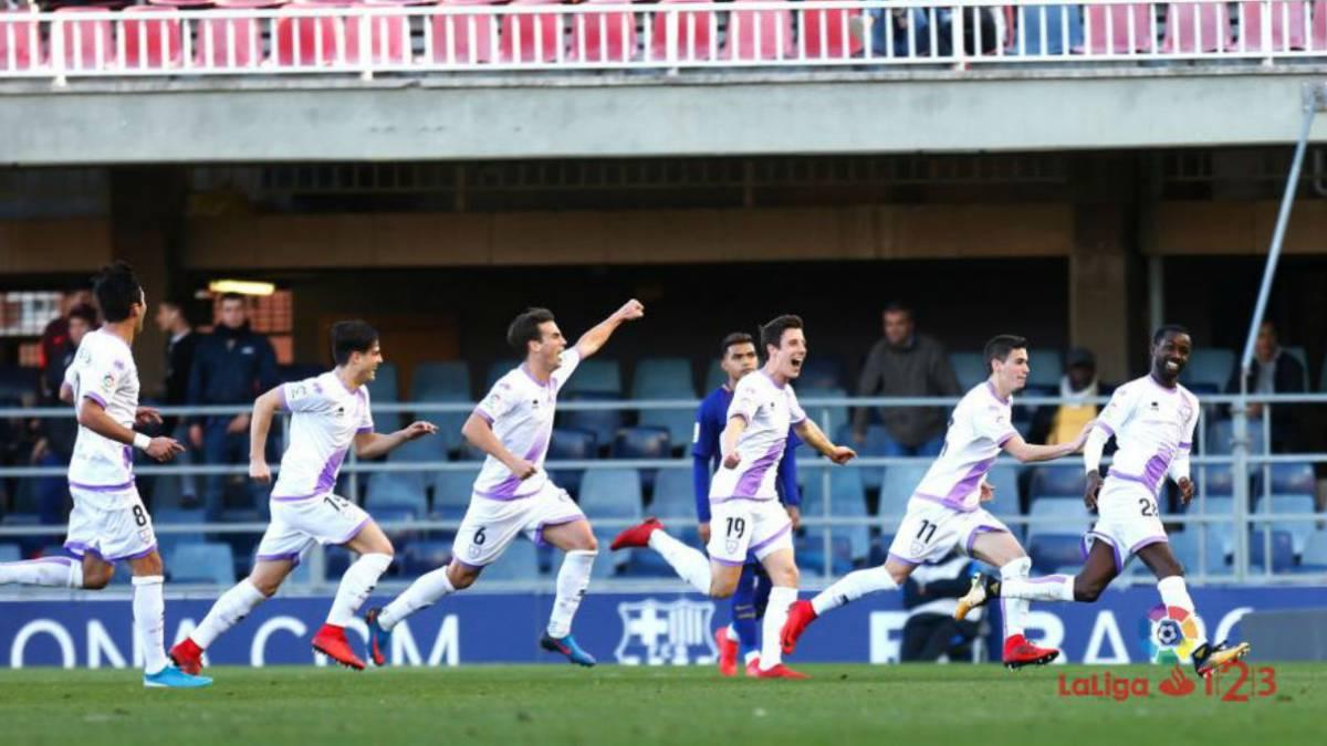 LaLiga 1|2|3| Barcelona B 2 - Numancia 2: Pere Milla y Diamanká ...