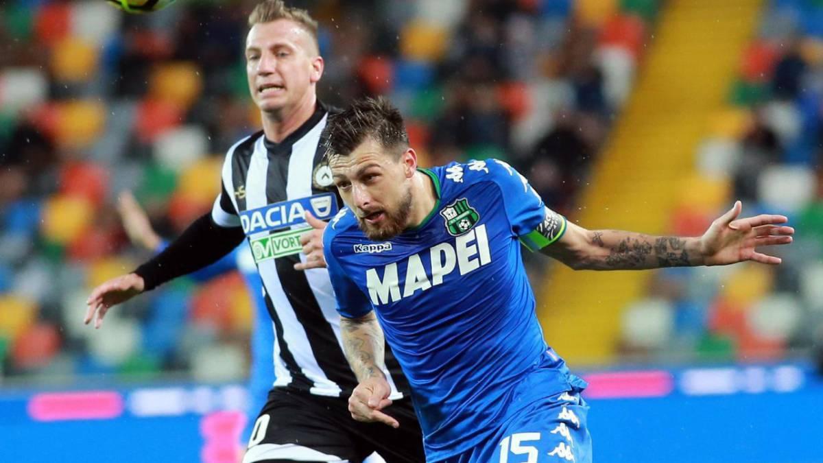 Sassuolo vence al Udinese y se aleja de la zona de descenso fd6e464e03ef8