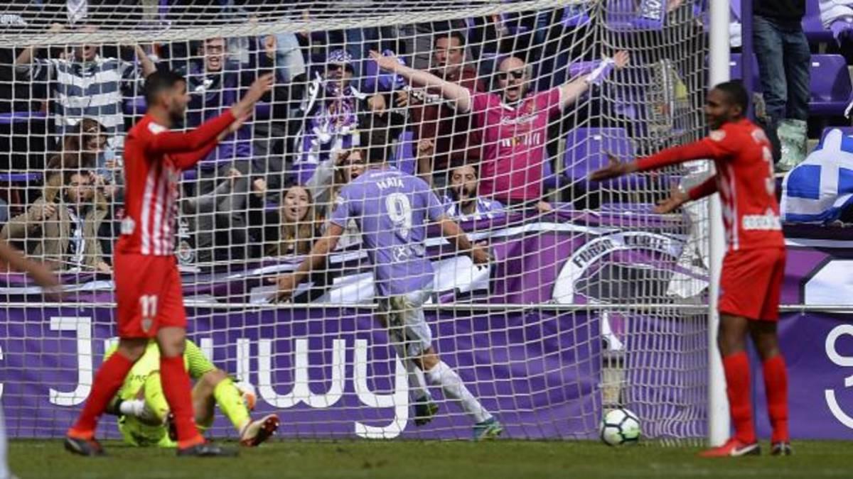 Valladolid 2 - 1 Almería: resumen, resultado y goles del partido ...