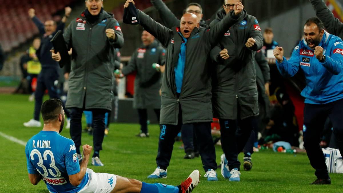 Serie A | Nápoles 1 - Genoa 0: Albiol permite al Nápoles seguir ...