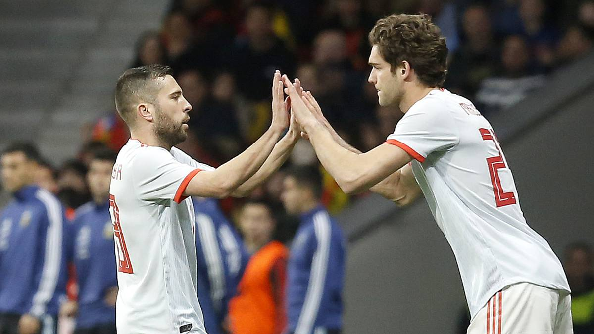Marcos Alonso follows ancestors to make history with Spain - AS.com