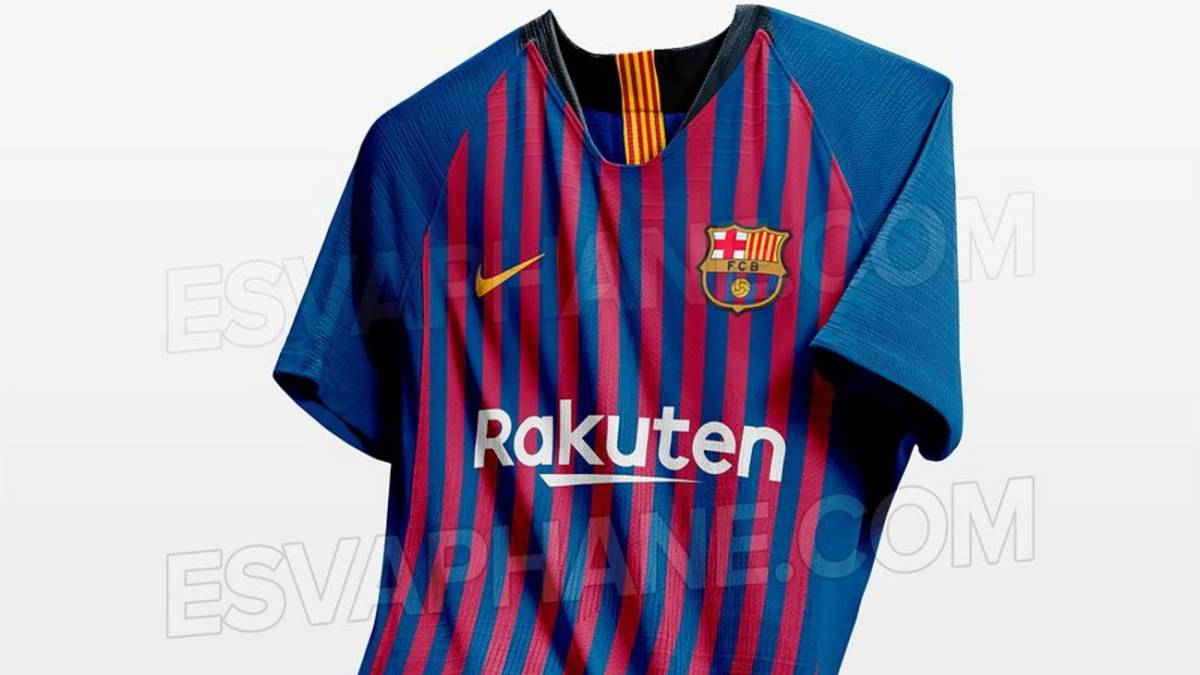 bd72c9243d2ed Nuevas fotos de la posible camiseta del Barcelona 2018 19 - AS.com