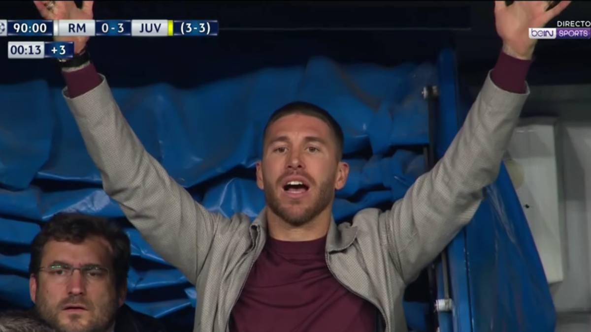 Peligran las semifinales de Champions para Sergio Ramos