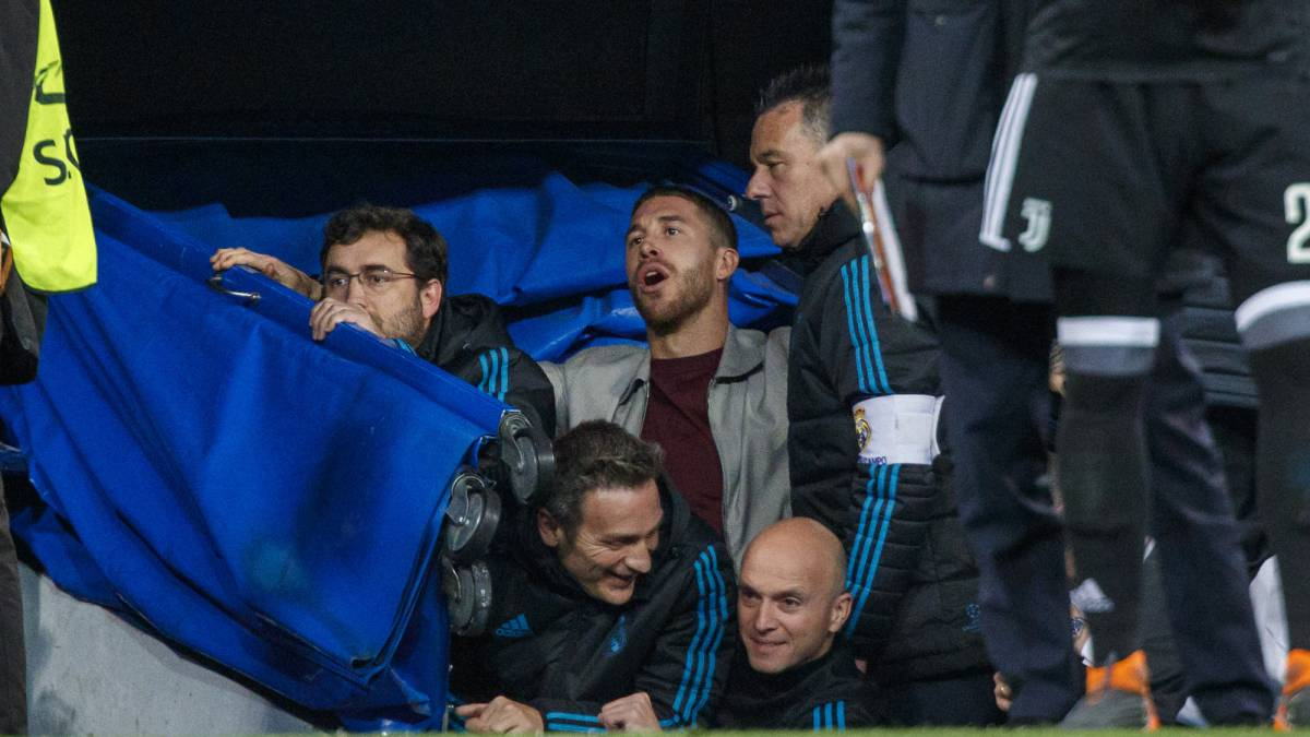 Real Madrid-Juventus Ramos avoids ban for being pitchside