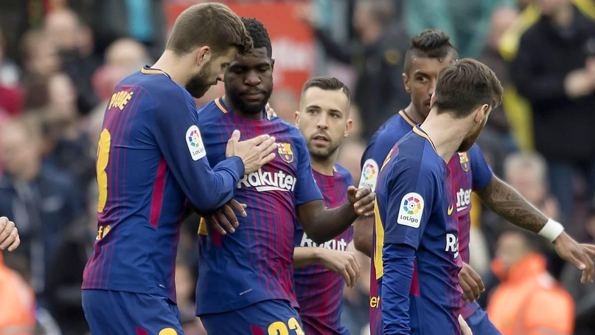 El Barça se repone con victoria y récord frente al Valencia