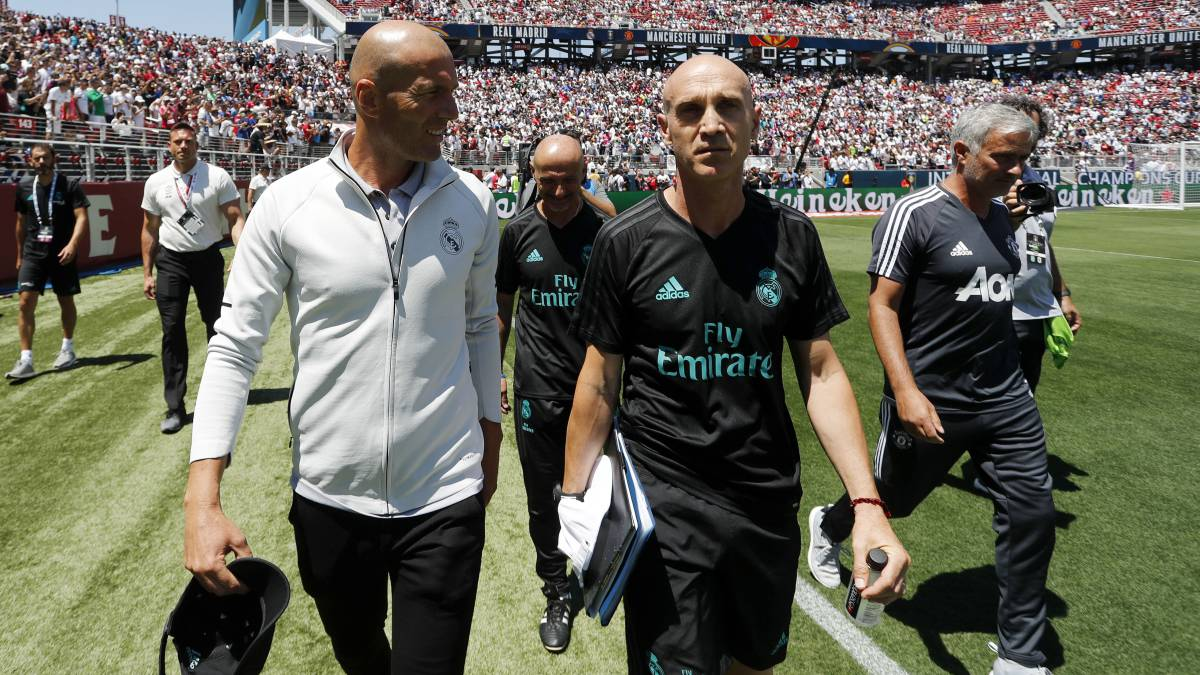International Champions Cup Real Madrid To Play Manchester United Juventus And Roma