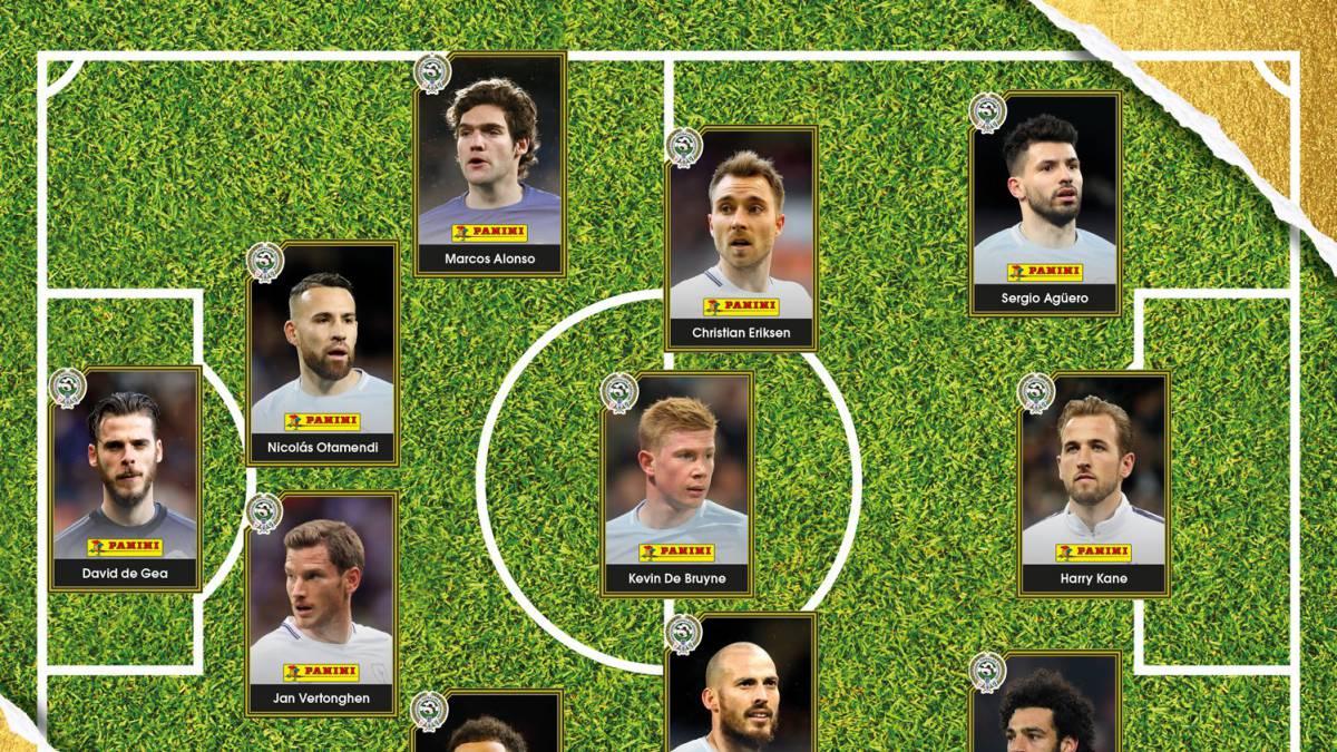 Man City dominate as PFA announces Team of the Season
