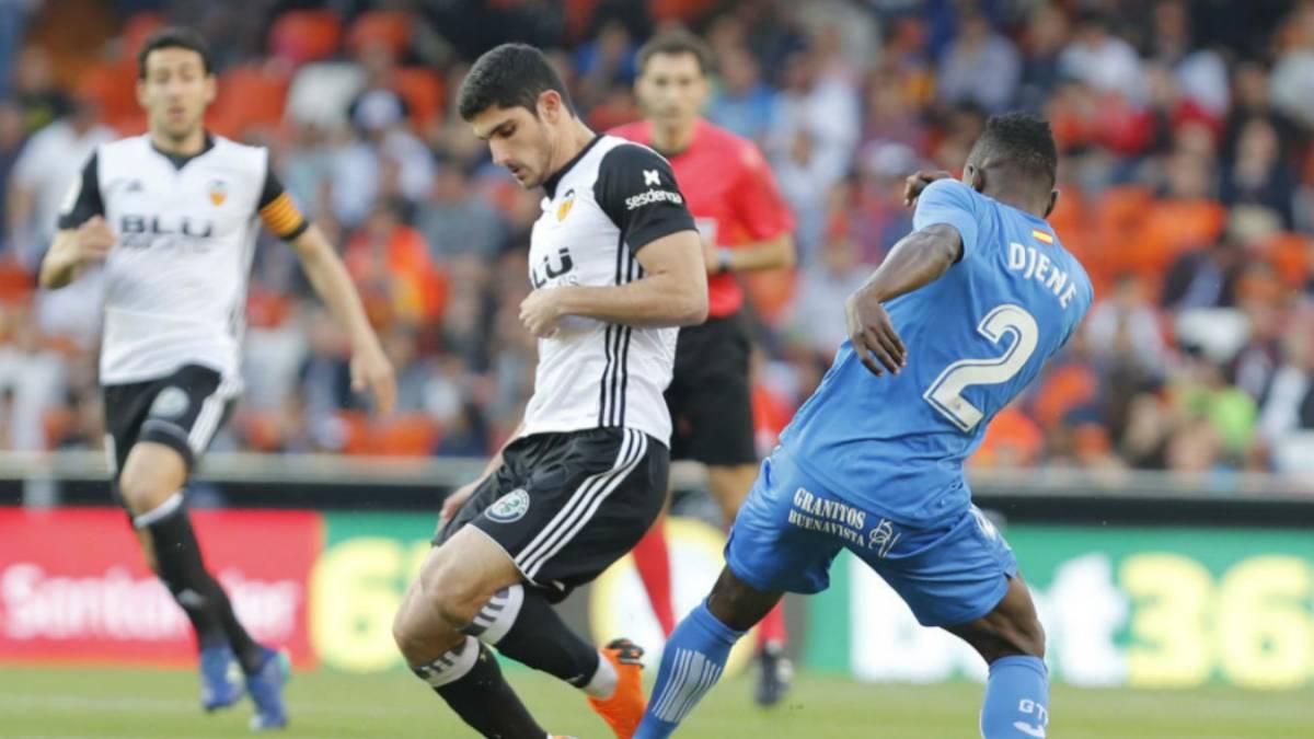 Valencia 1-2 Getafe: resultado, resumen y goles del partido - AS.com