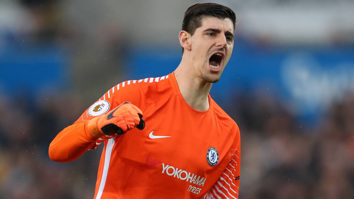 Courtois set for free transfer to Real Madrid?