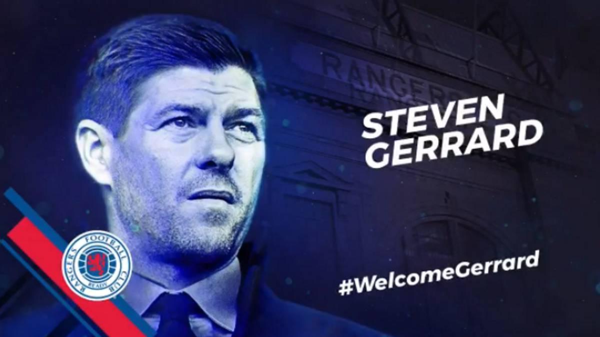 Steven Gerrard es nuevo entrenador del Rangers