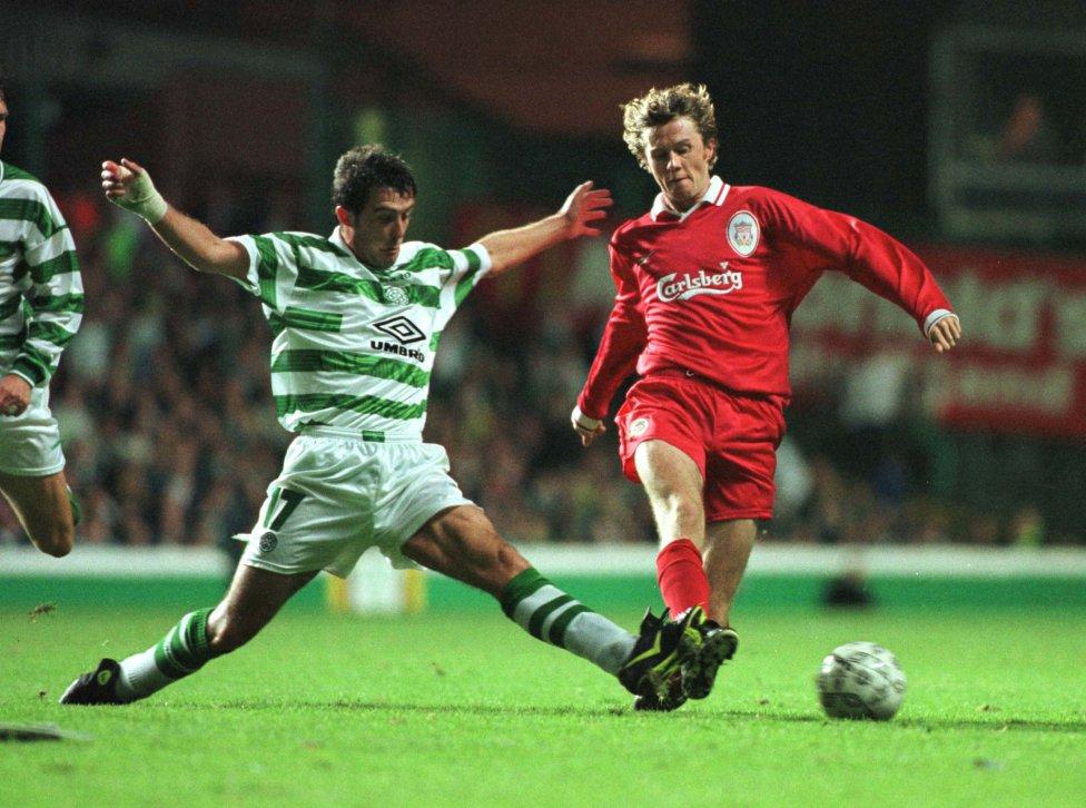 Steve McManaman. Jugador del Liverpool