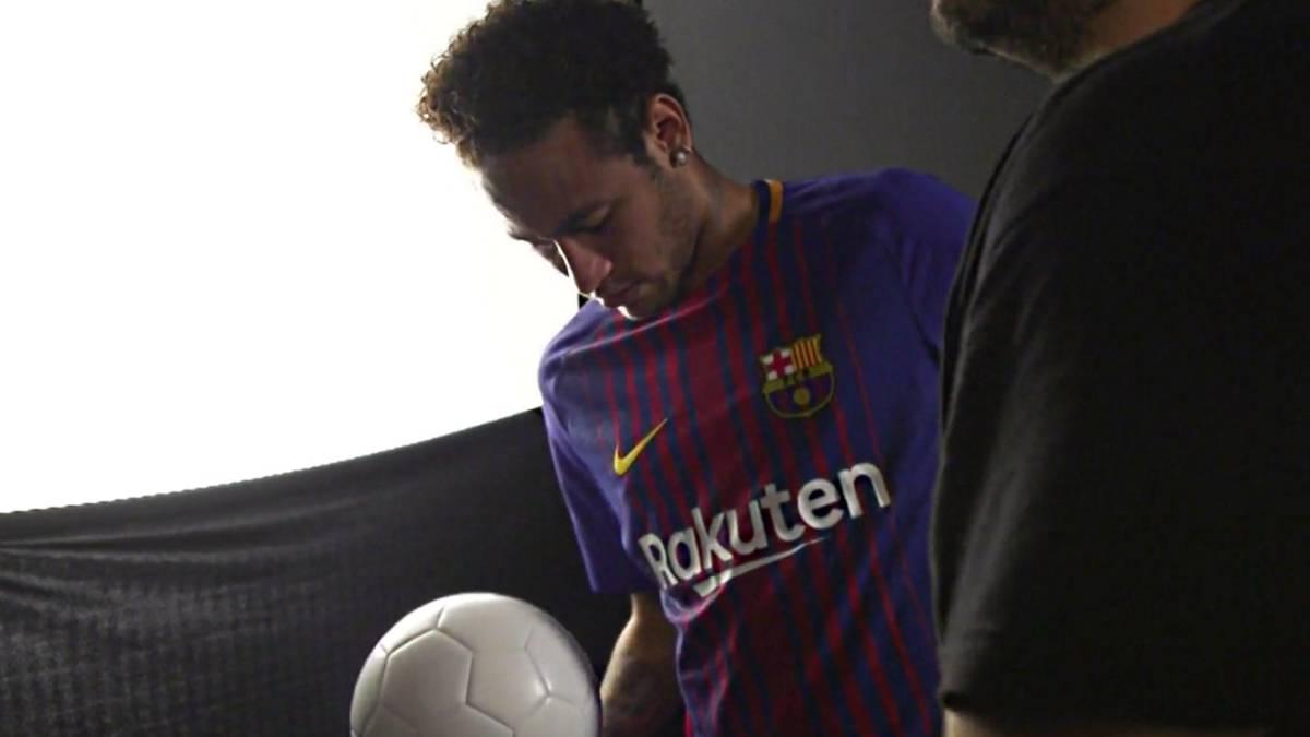 Neymar ya  calmó  al Barcelona antes de marcharse al PSG - AS.com 2bfa2a430645e
