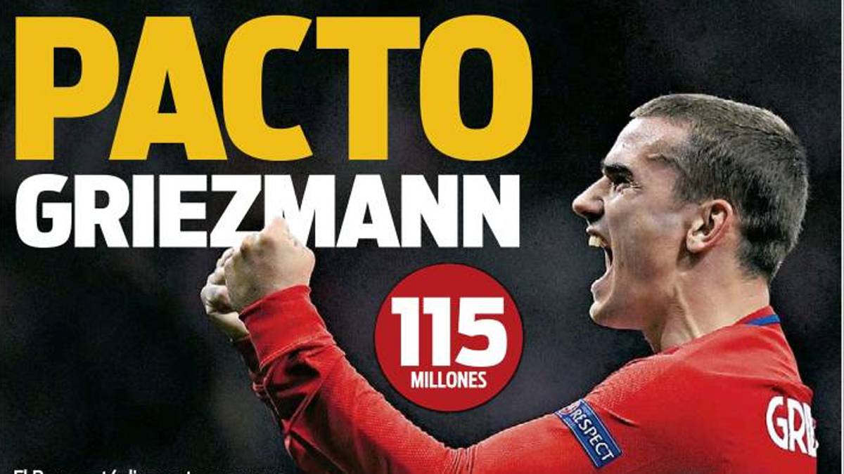 Atletico up the ante in bid to keep star striker Griezmann
