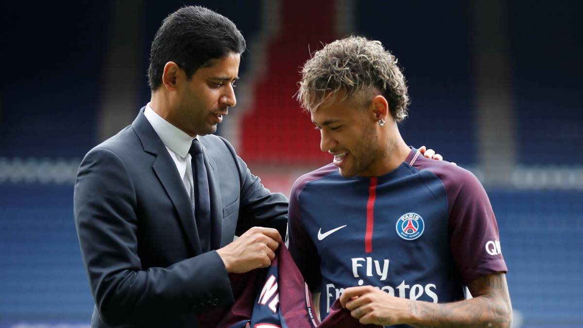 New PSG coach Tuchel holds talks with Neymar