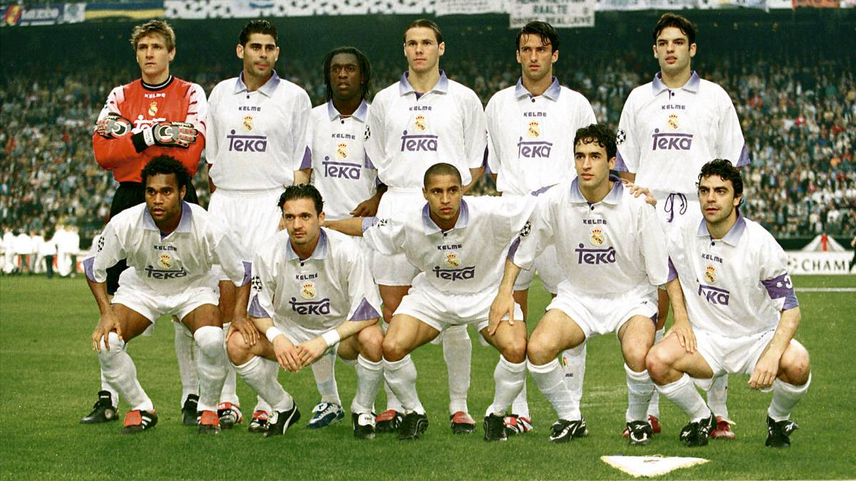 Real Madrid s Champions League winners in 1998  Where are they now ... dd8c6d82864ad