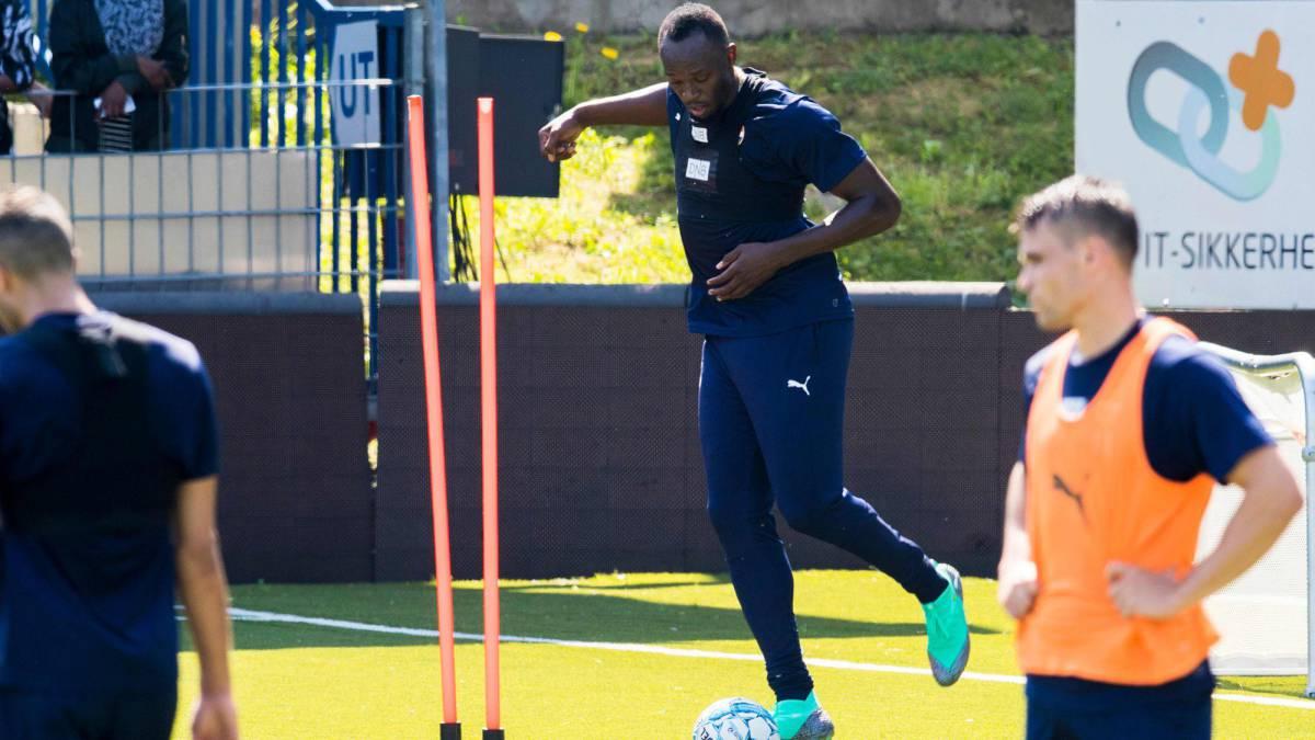 Usain Bolt ahora entrena en Noruega