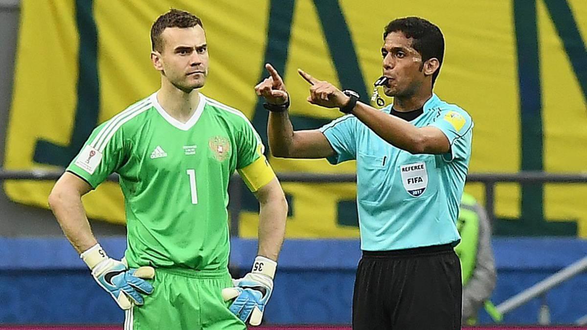 FIFA expulsó a un árbitro del Mundial por corrupción