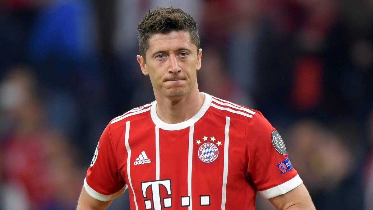 Lewandowski quiere dejar el Bayern Munich