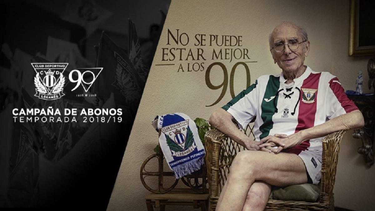 La campaña del Leganés para presentar su segunda equipación para la  temporada 2018 2019. 05a3b5ea3a89f