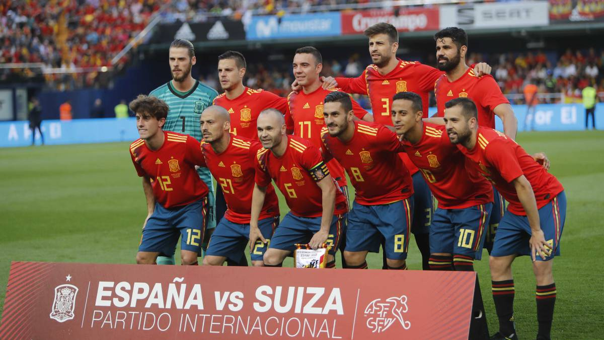 Spain National Team Spain Lead World Cup Nations In 2017 18
