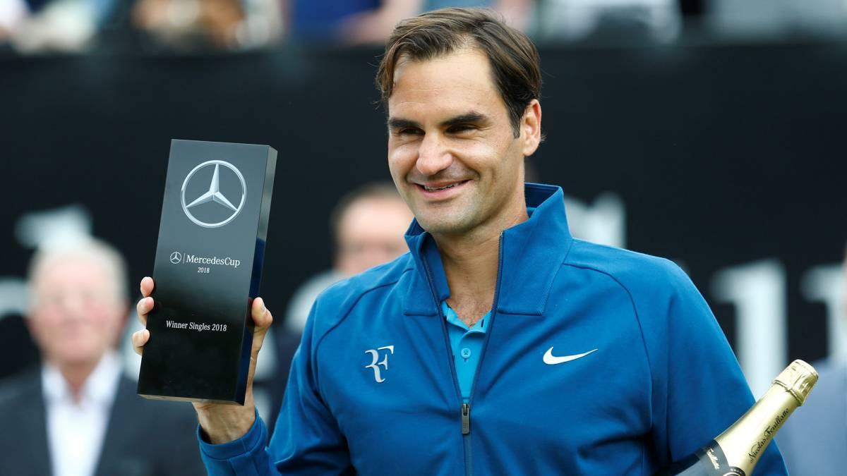 Roger Federer campeón del Abierto de Stuttgart