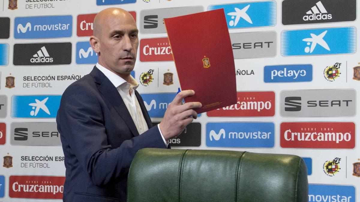 Rubiales contesta a las críticas de Larrea por el \'caso Lopetegui ...