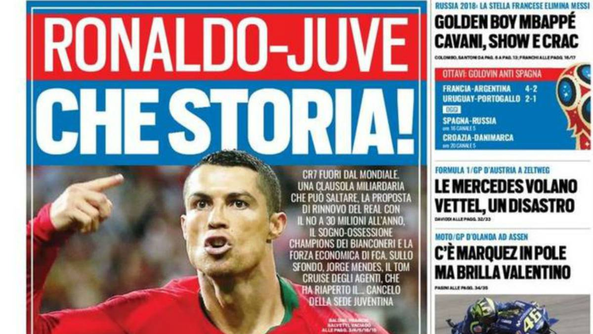 Cristiano Ronaldo to move from Real Madrid to Juventus for £100million?