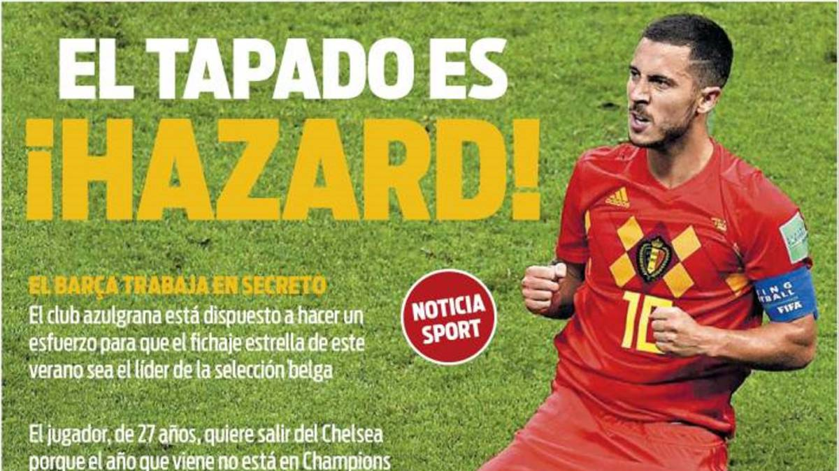 Barcelona set their sights on Eden Hazard- reports