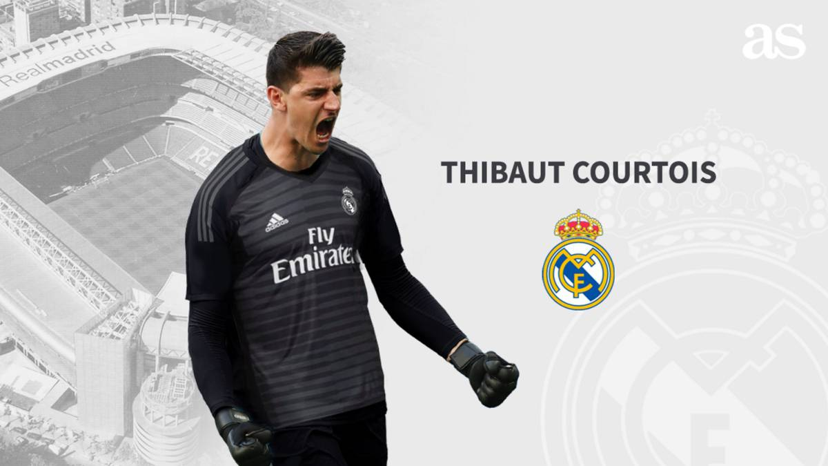 3e33067130b Official  Courtois signs for Real Madrid - AS.com