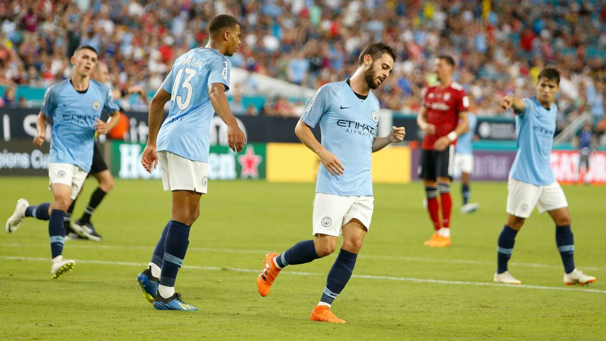 Man City remonta al Bayern y está listo para la Community Shield
